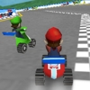 Super Mario go karts race