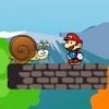 Super Mario in snail land